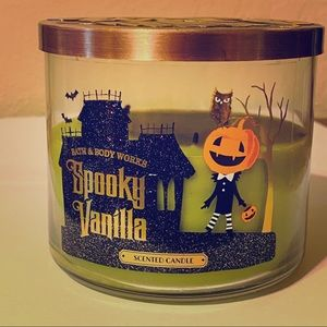 USED- Spooky Vanilla Bath and Body Works